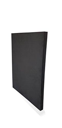 Wowe Reifenschoner Reifenschutz Reifenbett Hartschaum, 4 Stück schwarz.