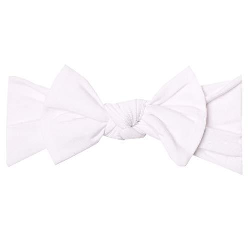 Baby Stretchy Soft Knit Headband Bow