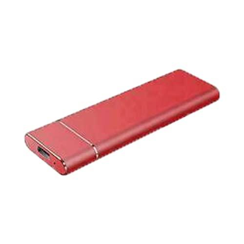 WDNMZX Disco Duro Externo portátil 4TB 2TB 1T 500G,Almacenamiento de Datos de Alta Velocidad SSD móvil,Disco Duro Externo Delgado,Interfaz USB 3.1 Gen1 Type-с para PC,computadora de Escritorio