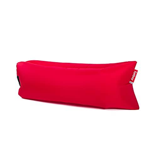 Fatboy® Lamzac the Original 3.0 Red | Aufblasbares Sofa/Liege, Sitzsack mit Luft gefüllt | Outdoor geeignet | 185 x 83 x 50 cm