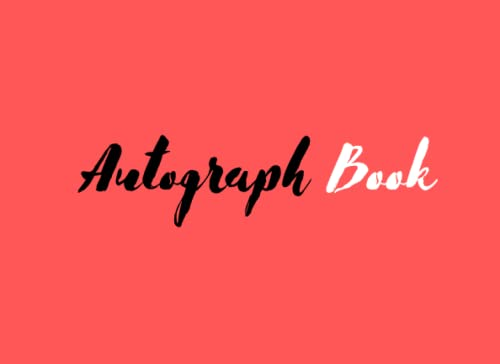 Compare Textbook Prices for Autograph Book: Autograph and Photo Book For Kids,Girls,Adult, Woman,... Signature Memorabilia Album ,Signatures Blank Scrapbook,Blank Pages for Keepsake Signatures  ISBN 9798751639372 by publishing, Spilili