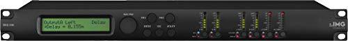 IMG Stageline DEQ-230 Digitaler Parametric/Graphic-2x30-Band-Stereo-Equalizer, schwarz