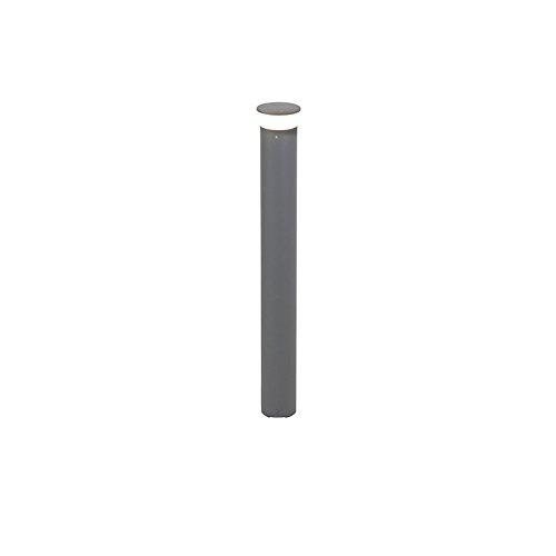 QAZQA Moderno Baliza moderna gris oscuro 80cm LED IP65- BAR Aluminio Redonda...