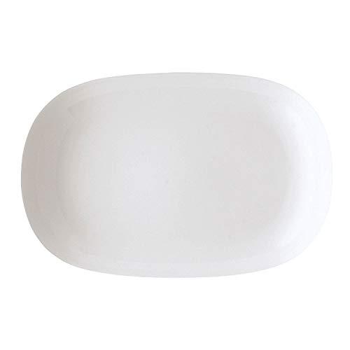 Arzberg Form 1382 Plat, Ovale, Plat Accompagnement, Plat de Service, White, Porcelaine, 36 cm, 41382-800001-12736