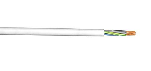 XBK 10107202 H05VV-F 3x1,5 mm² weiß (50m Ring)