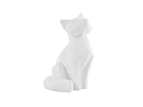 Present Time - Statue Renard Blanc Small Origami