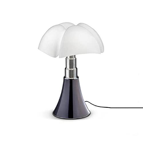 MINI PIPISTRELLO-Lampe Dimmer Touch LED H35cm Titane Martinelli Luce - designé par Gae Aulenti