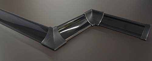 [Expessversand] 3 m ABSCHLUSSLEISTEN Winkelleisten Küche Arbeitsplatte Wandabschlussleiste