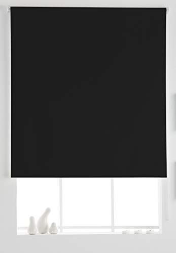 Estoralis Dracarys Estor Enrollable Opaco Black out Liso, Antracita, 130 x 230 cm