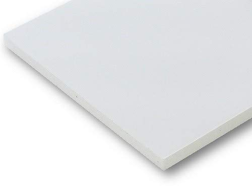 pappenwelt.de Roma Foamboard Weiss 50 x 70cm 5mm, 5 Stück (1Box), Leichtschaumplatte, Modellbauplatte, Schaumpappe, Sandwichplatte