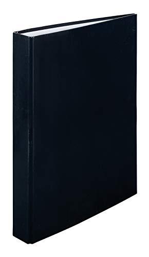 Idena 10332 - Ringbuch A4, 2 Ringe, Rücken 30 mm, schwarz