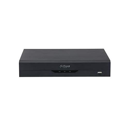 Dahua - NVR IP 8 Canali H.265 4K Ultra HD 12MP 80Mbps Intelligenza Artificiale Wizsense Dahua - NVR2108HS-I