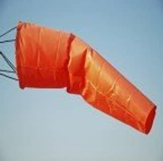 Fabri-Tech 400 Denier Nylon Airport Windsock, International Orange (10