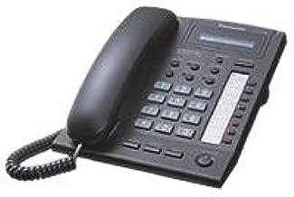 Panasonic KX-T7668 Systemtelefon Telefon Schwarz *Rechnung*