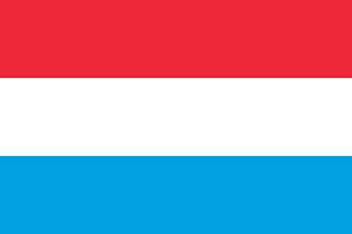 magFlags vlag: XS Luxemburg | liggend formaat vaandel | 0,375m2 | 50x75cm » vlag 100% Made in Germany