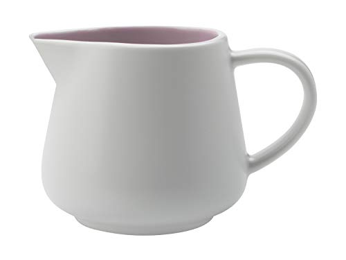 Maxwell Williams - Jarra para Leche, de Porcelana, Tono Pastel, 260 ml, Rosa Rosa, 260 ml