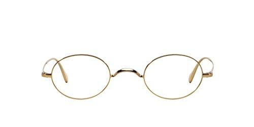 Oliver Peoples Rx brillenfassungen calidor 1185 5145 43x24 gold, medium für männer