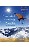 Fundamental Accounting Principles (17th edition), Volume 1 (Chapters 1-12) with Working Papers, w/2003 Krispy Kreme AR,