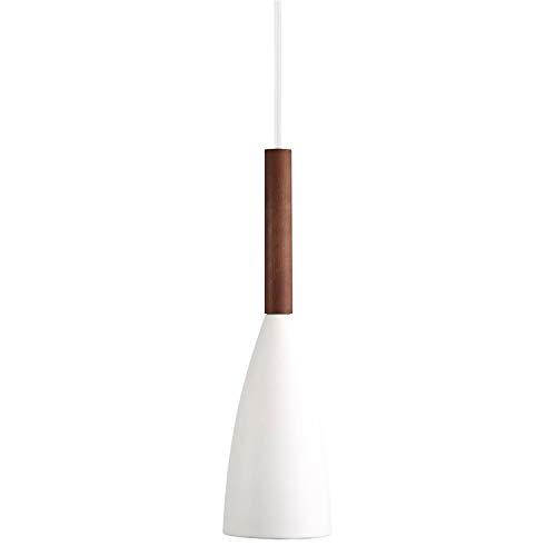 Nordlux Pendelleuchte, Holz, E27, weiß, 0 x 0 x 35.5 cm