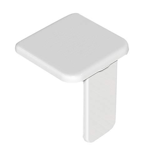 Wilk Dusche hocker Klappbar Duschsitz Wandmontage Badestuhl für Badezimmer Hilfssitz rutschfeste Duschstühle für Behinderte Ältere Menschen, Gewichtskapazität 300 Kg