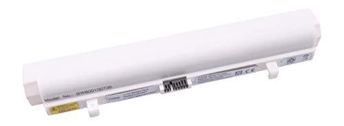 vhbw Akku passend für Lenovo IdeaPad S10, S10e, S12, S9, S9e, M10 Laptop Notebook - (Li-Ion, 6600mAh, 11.1V, 73.26Wh, weiß)