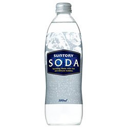 サントリー ソーダ500ml瓶×20本入×(2ケース)