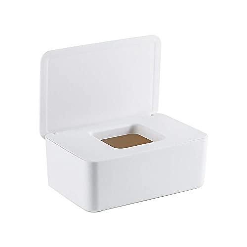 XUSHAN Caja de toallitas húmedas, dispensador de toallitas húmedas, caja de toallitas para bebé