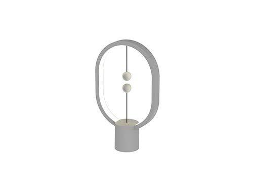 DesignNest by Allocacoc Heng Lamp Elipse Mini, Gris Claro/Light Grey
