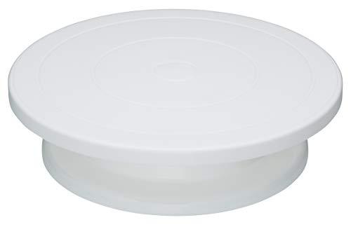 Kitchen Craft Sweetly Does it Drehbare Tortenplatte zum Verzieren von Torten, 28 cm