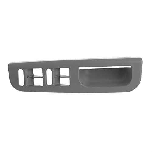 Lianlili Panel de Control del Interruptor de la Ventana de la Puerta del automóvil Bisel para VW Passat B5 para Jetta para Bora para Golf MK4 (Color : Gray)