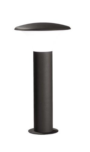 Trio Leuchten LED Außen-Wegeleuchte, Aluminiumguss, inklusiv 1 x E27, 4 W, Höhe 50 cm, ø 27 cm, anthrazit 520160142
