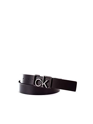 Calvin Klein Heren Riem 35MM ADJ CK SIGNATURE BUCKL BELT