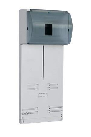 Zählertafel Zählerbrett TLR-3F-N+PE für Dreh.u./Wechselstrom mit Kunststoff-Glas 10.1A 0660