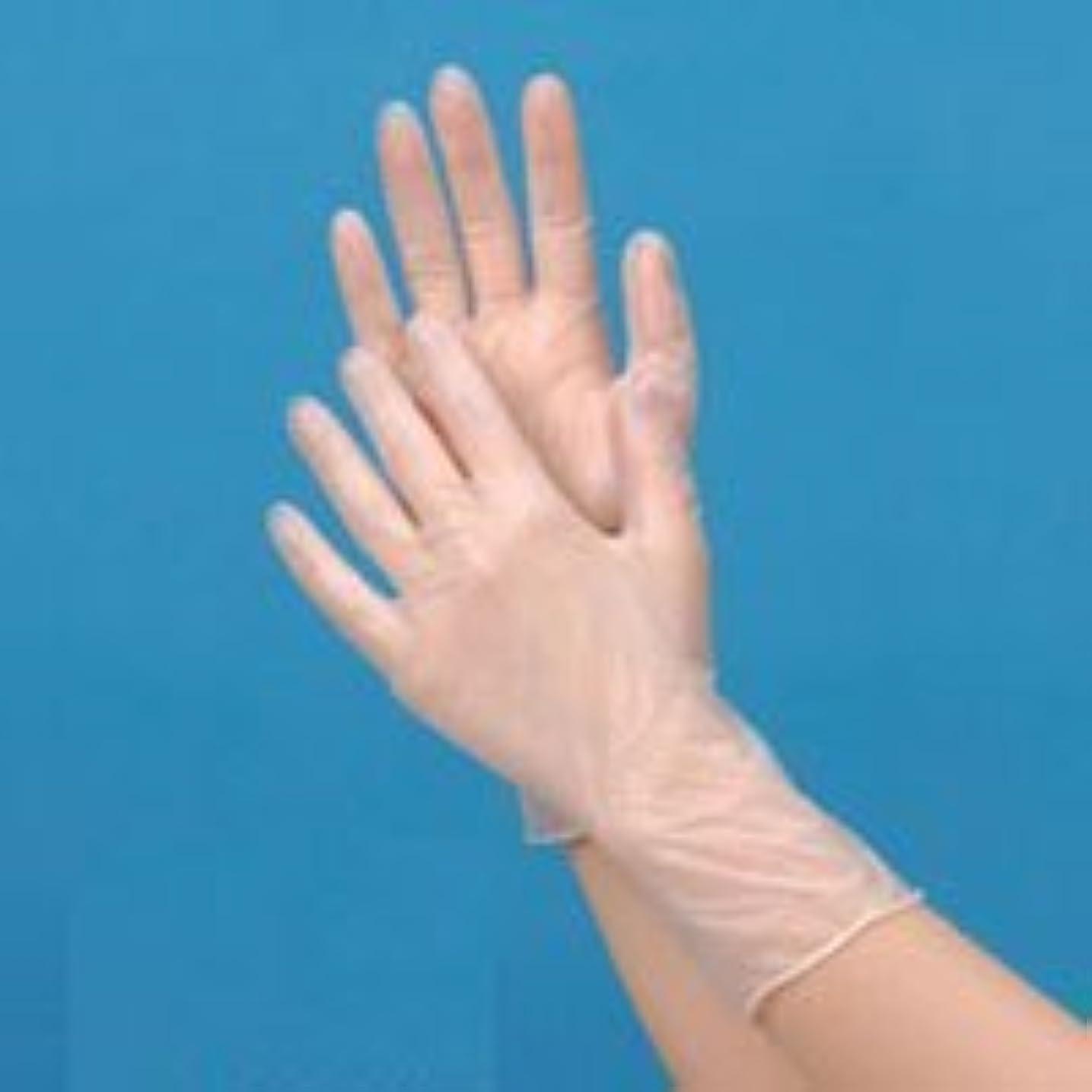 メンターセールデッドロックプラスチック手袋ハイクリーン(パウダーフリー)S 100枚【食品対応】