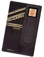 カード式印鑑インカード 既製対応氏名(メールオーダー式)