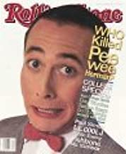 Rolling Stone Magazine Oct. 3,1991 Issue 614 Pee Wee Herman Cover