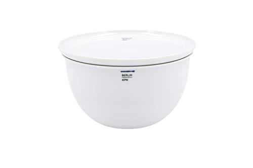 LAB Bowl & Teller-Set 14cm 2-TLG. Porzellan von KPM Berlin - Teller-Set - Porzellan-Set - Handmade & als Geschenk verpackt - Weiß