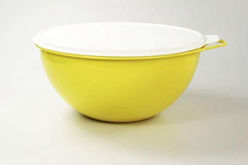 Tupperware Maximilian Rührschüssel 7,5L gelb Maxima Jumboschüssel Salatbar 36763