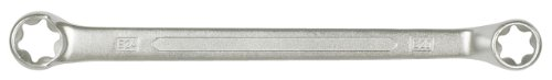 KS Tools 911.0361 CLASSIC TX-E-Doppel-Ringschlüssel, gekröpft, E6xE8