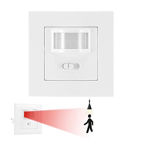 CML Interruptor de Sensor de Movimiento de Infrarrojos Interruptor de la Bombilla de la Pared incorporada para el Interruptor de la Bombilla en el Pasillo de la Sala de Estar del hogar