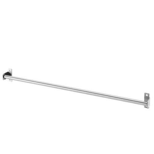 Ikea 403.349.16 KUNGSFORS Stange, Edelstahl 56 cm