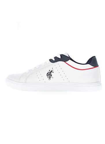 U.S. Polo Assn. Sneaker CurtY4244S0_Y1 Uomo bianco EU 41