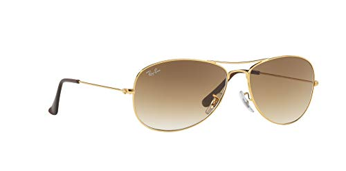 Ray Ban RB3362 COCKPIT 001/51 59M Arista/Crystal Brown Gradient Sunglasses For Men For Women Crystal Brown Gradient Sunglasses