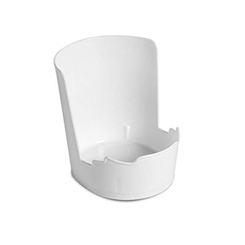 AniU Soporte de plástico para utensilios de cocina, soporte para cuchara, cuchara y espátula, soporte de almacenamiento para herramientas de cocina, vajilla, tapas de ollas