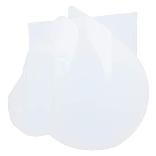 Pssopp 3D-Tierharzformen Harzgussformen Tierrinderform Silikonform für Heimwerkerdekoration(#2)
