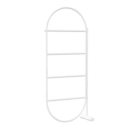 Handdoekenrek vrijstaand, ladder handdoekhouder, handdoekenrek badkamer, 64 x 30 x 156 cm, handdoekstandaard badkamer