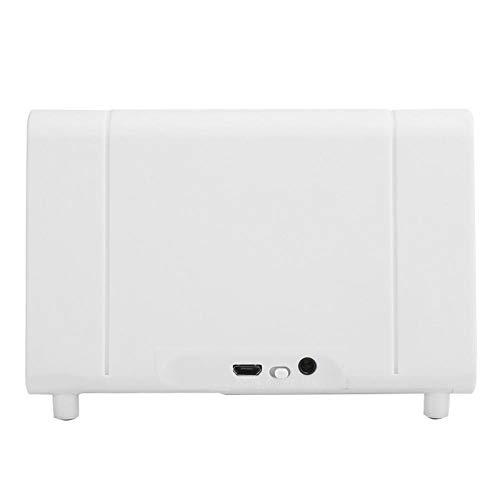 Fishawk Altavoz de inducción Inteligente ecológico, Altavoz portátil, teléfonos Inteligentes para teléfonos móviles domésticos al Aire Libre(White, Pisa Leaning Tower Type)