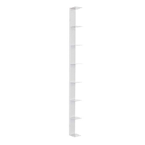 Radius Design booksbaum Single Wand Gross weiß, 2tlg. Best.aus: Halterung + Einlegeböden [W]