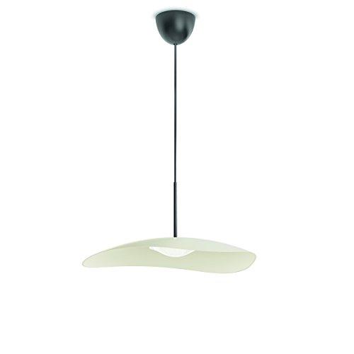 Philips 409063816 Calgary Luminaire d'Intérieur Suspension LED Métal Blanc 8 W