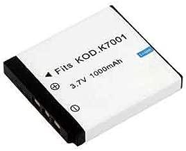 High Capacity Rechargeable Battery for Kodak EasyShare M320  M340  M341  M753  M763  M853  M863  M893 IS  M1063  M1073 IS  MD41  MD853  MD863  MD1063  MX1063  V550  V570  V610 and V705 Digital Camera
